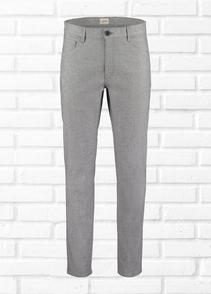 WILLIAM 5 POCKET TROUSER - GREY