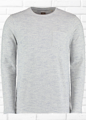 HALIFAX LONG SLEEVE TEXTURED TEE