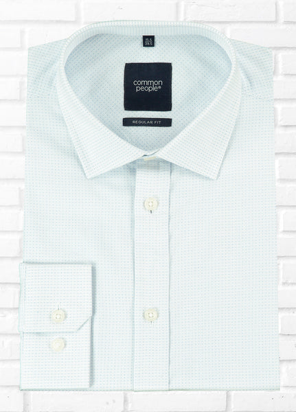 STUART LS DOBBY FORMAL SHIRT
