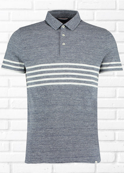 KANJO CHEST STRIPE POLO