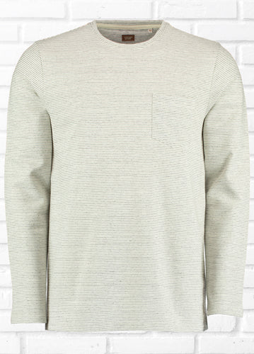 VICTOR LONG SLEEVE TEXTURED TEE