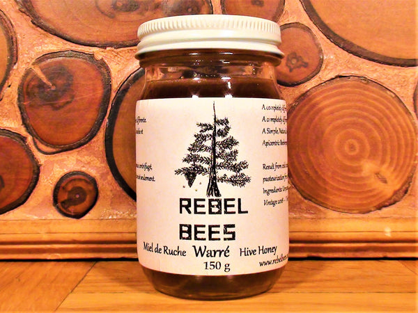 RebelBees Honey - Copyrights RebelBees 2018