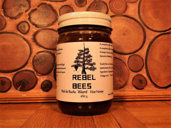 RebelBees Honey & Comb - Copyrights RebelBees 2018
