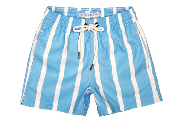 Boys Classic Swim Trunk Cabana - Light Blue