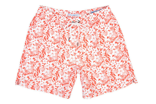 Classic Swim Trunk Knockout - Orange