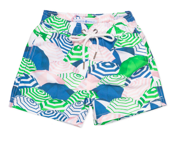 NEW - Boys Classic Swim Trunk Capri - Grass Court