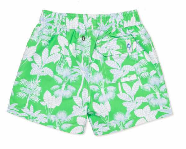 NEW - Boys Classic Swim Trunk Paradise - Grass Court