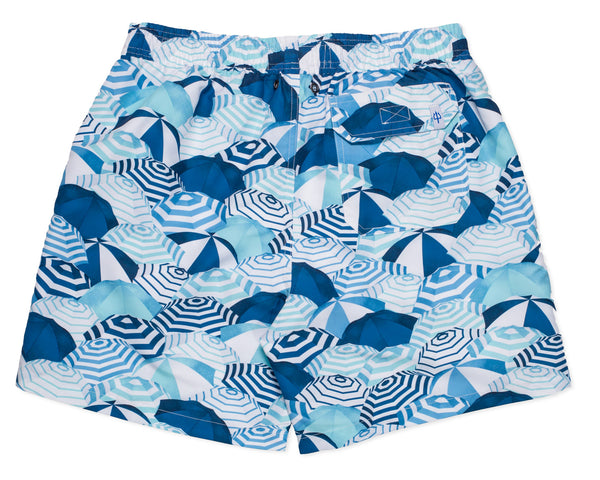NEW - Classic Swim Trunk Capri -Amanda Blue