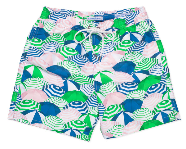 NEW - Classic Swim Trunk Capri - Grass Court