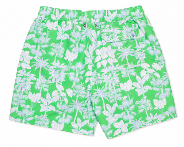 NEW - Classic Swim Trunk Paradise - Grass Court