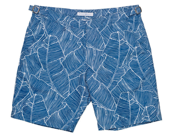 NEW - The Hybrid Short 2.0 Banana Palm - Amanda Blue