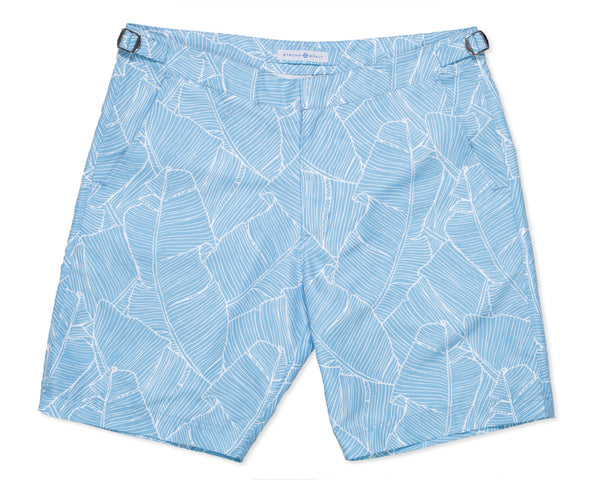 NEW - The Hybrid Short 2.0 Banana Palm - Cerulean Sea