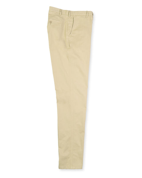 Pima Cotton Pants - Stone