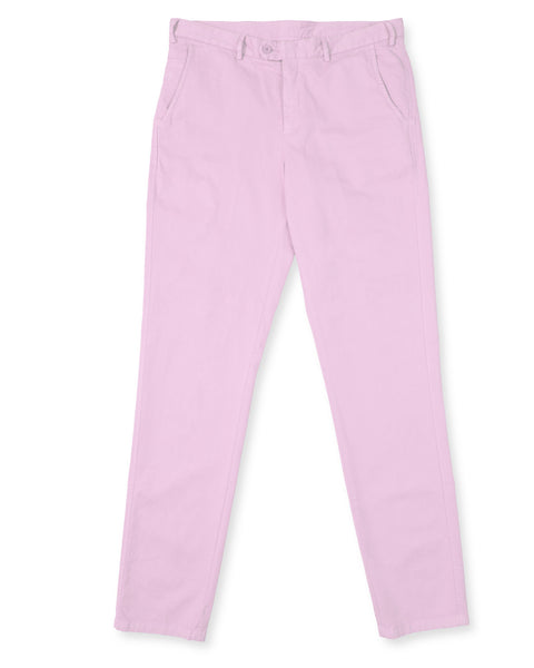 Pima Cotton Pants - Pink