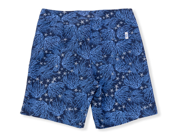 Classic Boardshort Coral - Navy