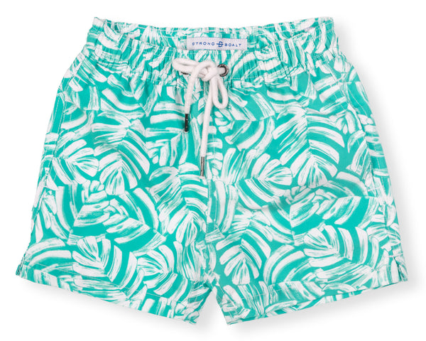 Boys Classic Swim Trunk Elephant Ears - Green