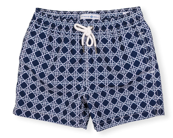Boys Classic Swim Trunk Bamboo - Navy