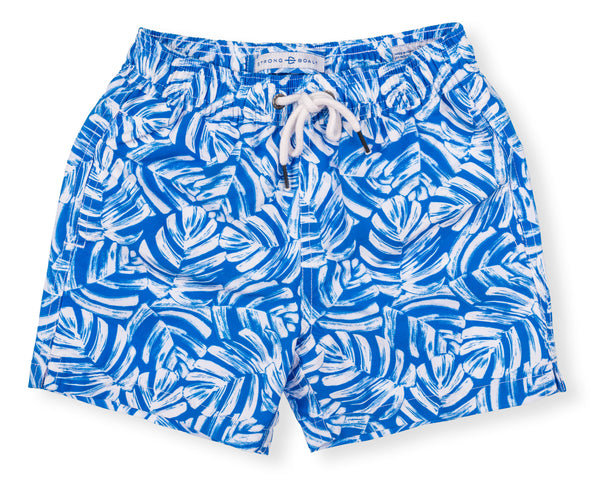 Boys Classic Swim Trunk Elephant Ears - Blue