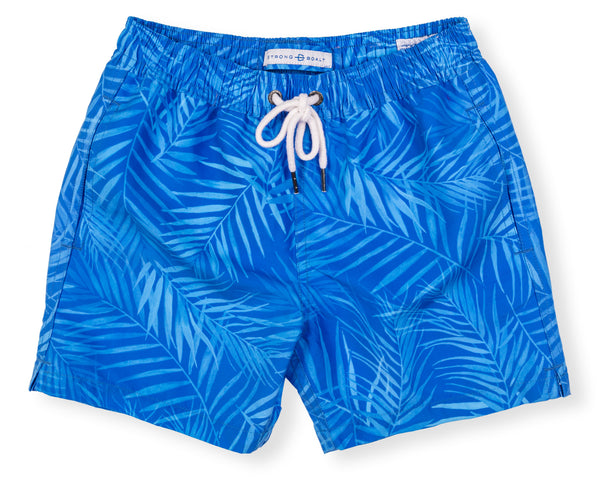 Boys Classic Swim X-Ray Palms - Blue