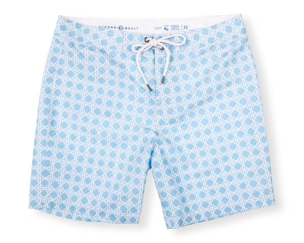 NEW! Classic Boardshort Bamboo - Washed Blue