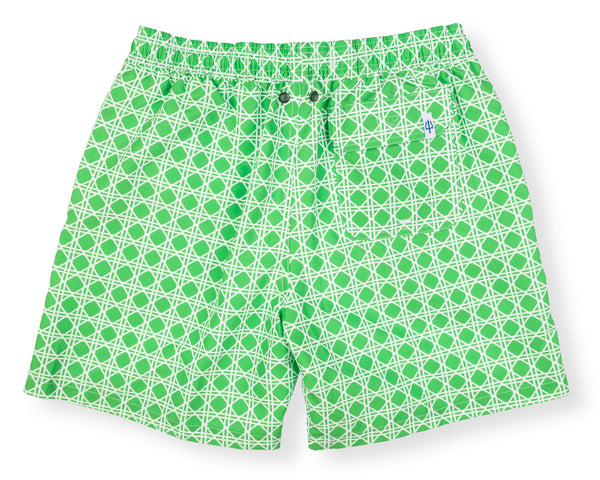 NEW! Classic Swim Trunk Bamboo - Grass Court