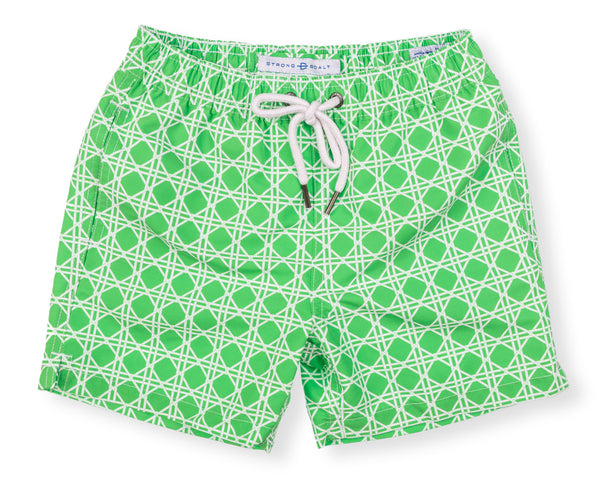 NEW! Boys Classic Swim Trunk Bamboo - Grass Court