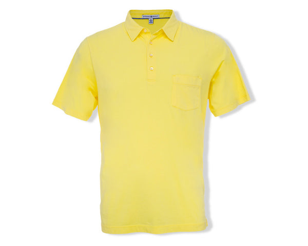 The Alexander Polo - Lemon Yellow