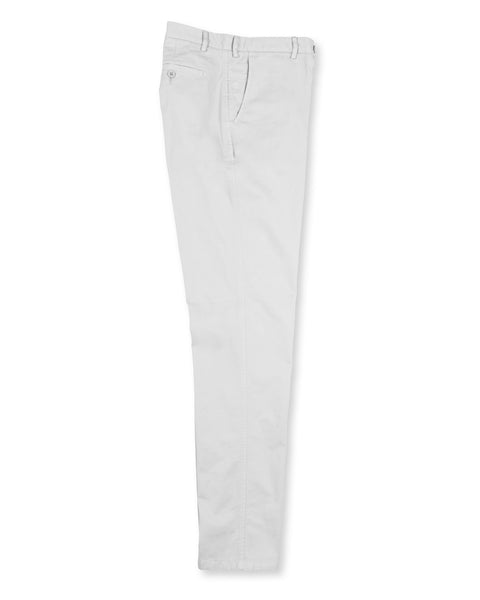 Pima Cotton Pants - White