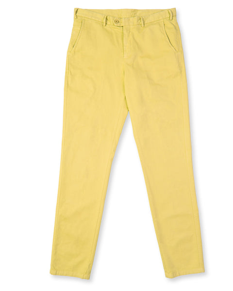 Pima Cotton Pants - Sunny Yellow