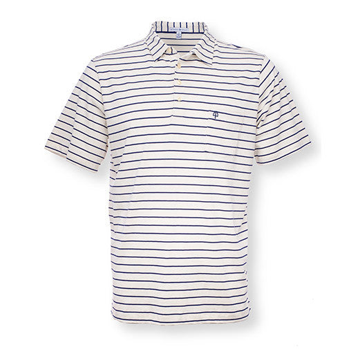 The Nautical Stripe - White