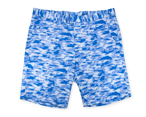 The Walking Short - Ocean Camo