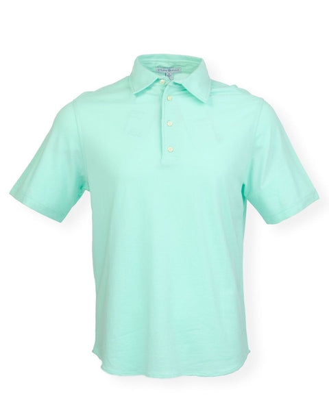 The Adam Pique Polo - Mint