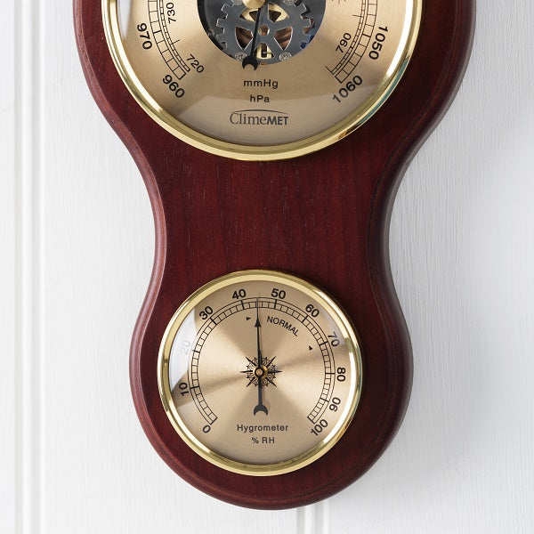 Climemet Cm4281 The Gainsborough Classic Banjo Barometer