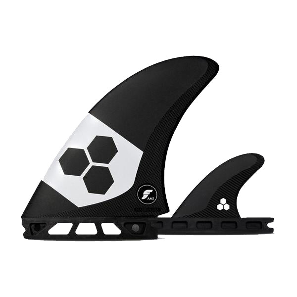 AMT Alpha Series Fins | Twin+1 | Carbon/White
