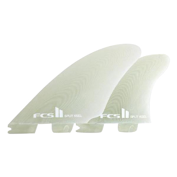 PG Split Keel Quad Retail Fins | X-Large