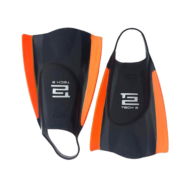 Tech 2 Fin | Black/Orange