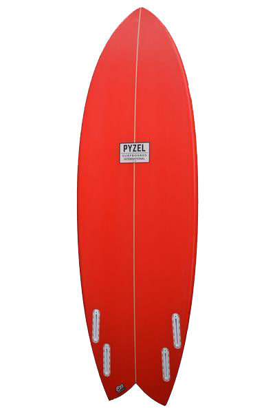 Astro Glider | Futures Quad | Cherry Red