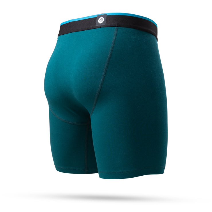 The Boxer Brief Standard 7in - Deep Green