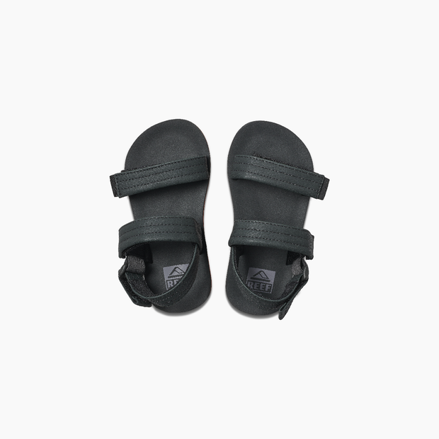 Boys Little Ahi convertible Sandals - Black Orange