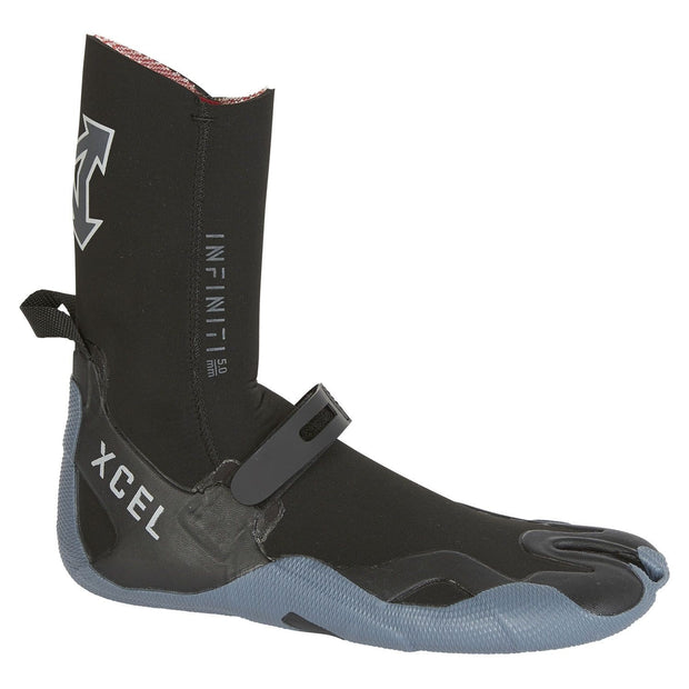 5mm Infiniti Split Toe Boot | Black