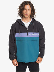 Expression Session Water-Resistant Hooded Anorak - Black