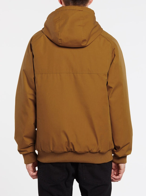 Hernan 5K Jacket - Golden Brown