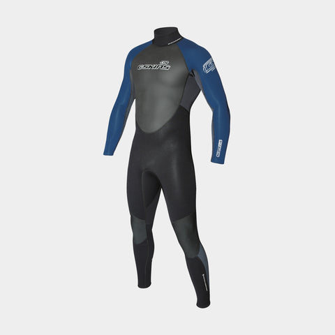 Xcel Womens Axis Comp || 3/2mm Wetsuit || Graphite/Lake Blue