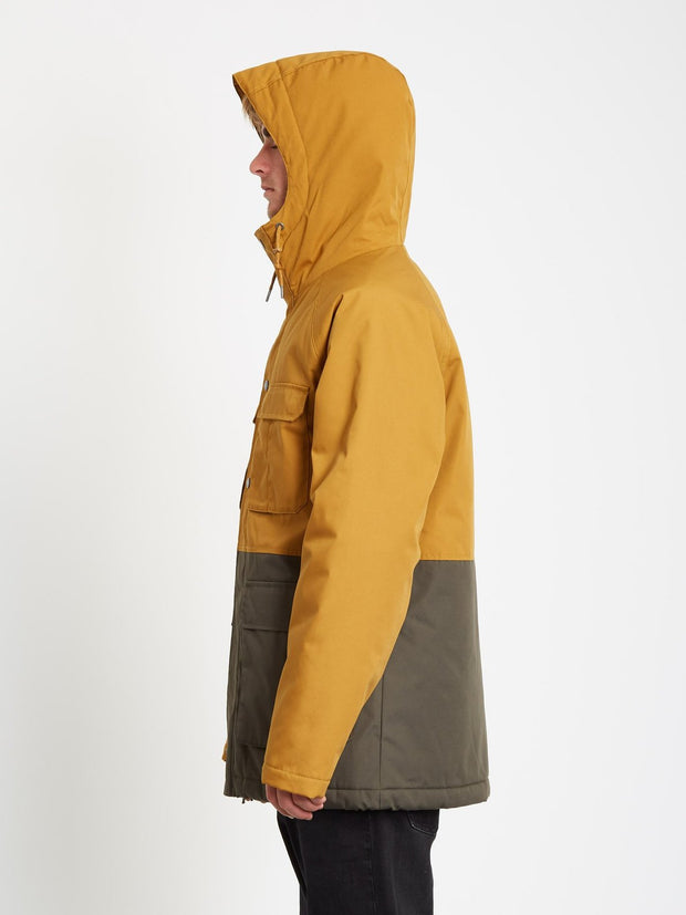 Renton Winter 5K Parka Jacket - Golden Brown