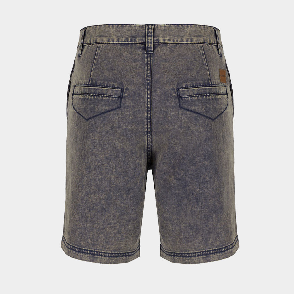All Occasions Chino Shorts Navy Acid Wash