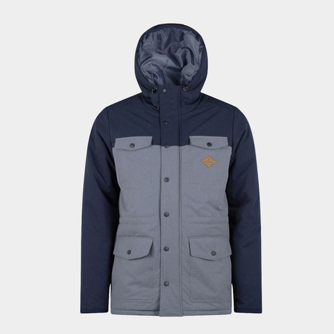 Explorer Parker Jacket Grey Navy