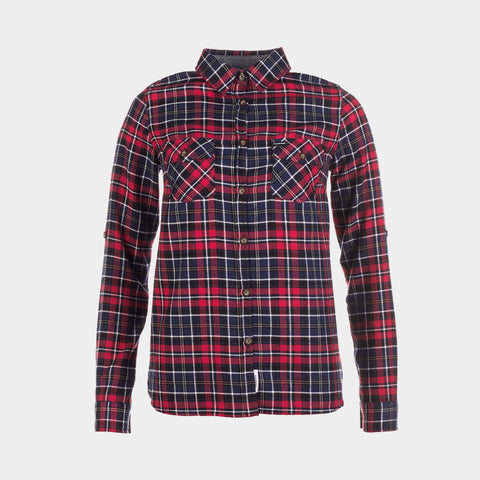 Yosemite Shirt | Navy/Red