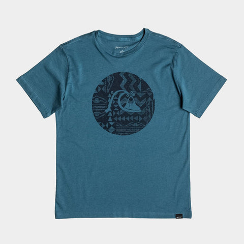 Circle Bubble T Shirt | Indian Teal