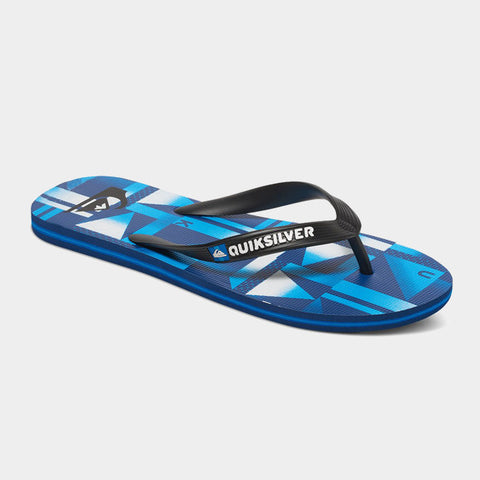 Molokai Checker Flip Flops | Blue/Blue/Black