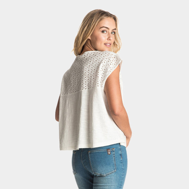 Boho Dance Sleeveless Top | Marshmellow